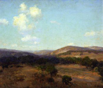 Bandera Hills | Julian Onderdonk | oil painting