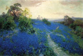 Bluebonnet Field | Julian Onderdonk | oil painting