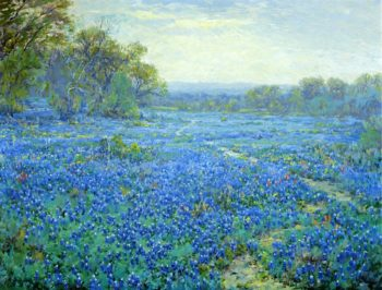 Bluebonnet Scene | Julian Onderdonk | oil painting