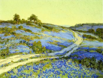 Bluebonnets Late Afternoon | Julian Onderdonk | oil painting