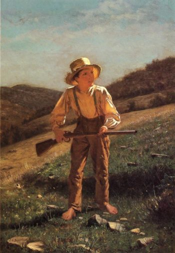 The Anxious Moment | John George Brown | oil painting