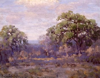 Brush Country Landscape | Julian Onderdonk | oil painting