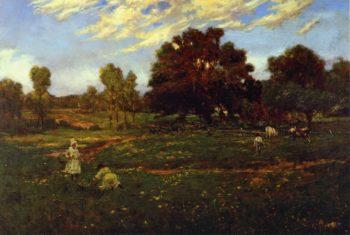 Fall Scene near Sisterdale | Julian Onderdonk | oil painting
