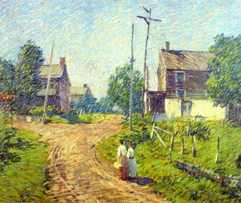 Crossroad | Robert Spencer | oil painting