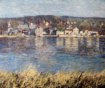 Across the River | Robert Spencer | oil painting