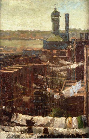 Hudson River View | Julian Onderdonk | oil painting