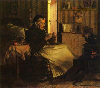 Home Comfort | John George Brown | oil painting