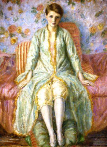 Portrait of Jane Belo | Frederick C Frieseke | oil painting