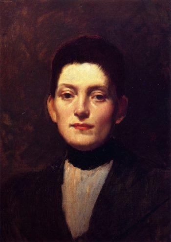 Miss Westlake | Frank Duveneck | oil painting