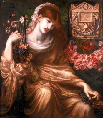 The Roman Widow | Dante Gabriel Rossetti | oil painting