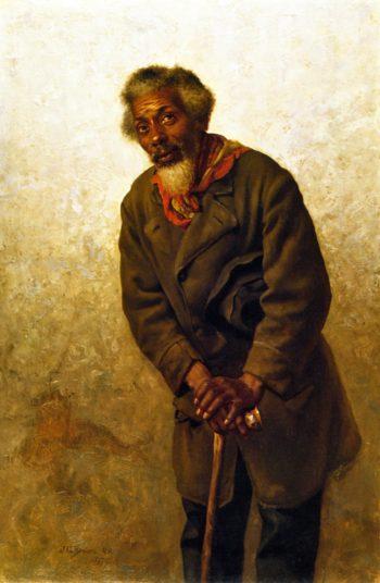 Hard Times Massa | John George Brown | oil painting