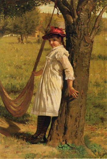 Give Me a Swing | John George Brown | oil painting