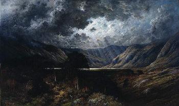 Loch Lomond | Gustave Dore | oil painting