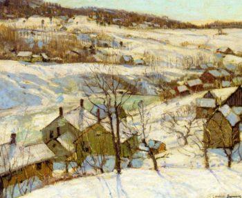 Berkshire Hills Winter | George Gardner Symons | oil painting