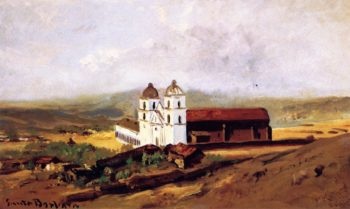 Santa Barbara Mission | William Keith | oil painting