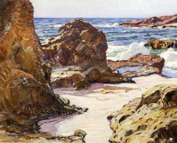 Rocks and Sea | George Gardner Symons | oil painting