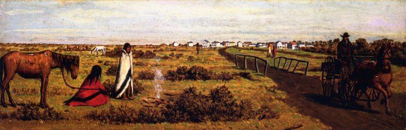 Winnipeg Manitoba   William George Richardson Hind   oil painting