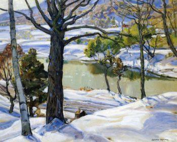 From My Studio Window | George Gardner Symons | oil painting