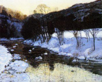 Dusks Palette | George Gardner Symons | oil painting