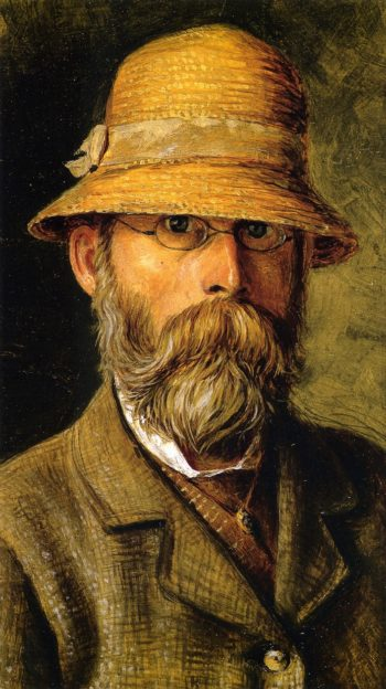 Self Portrait | William George Richardson Hind | oil painting
