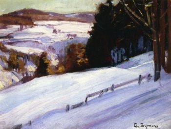 Snow Scene | George Gardner Symons | oil painting