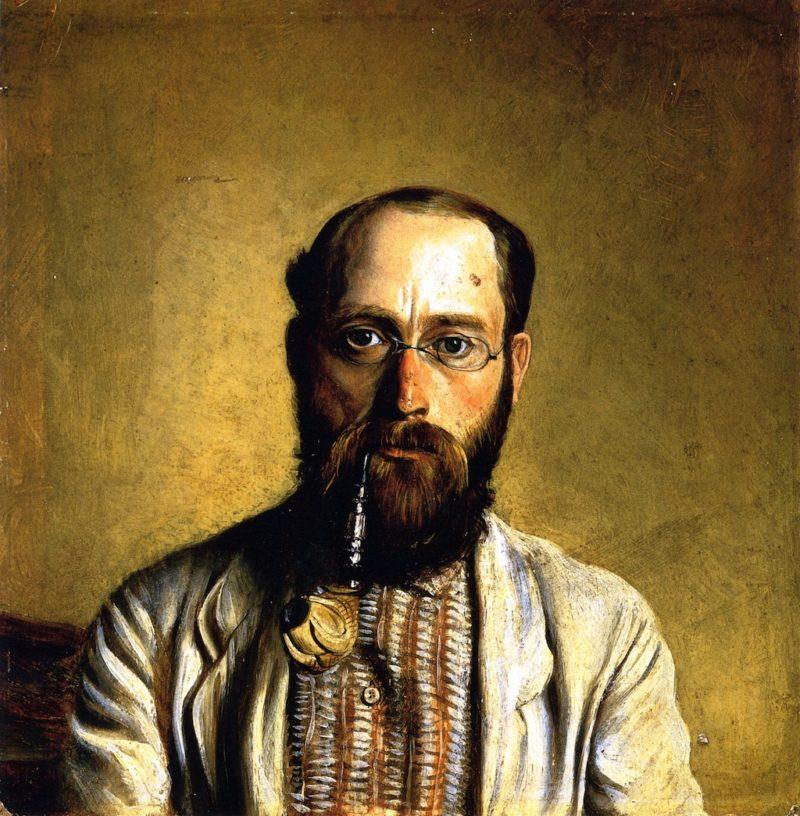 Self Portrait | William George Richardson Hind | oil painting