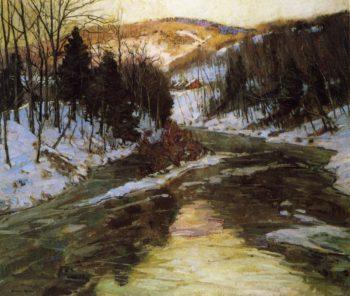 Winter Stream | George Gardner Symons | oil painting