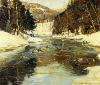 Near Springfield Massachusetts | George Gardner Symons | oil painting