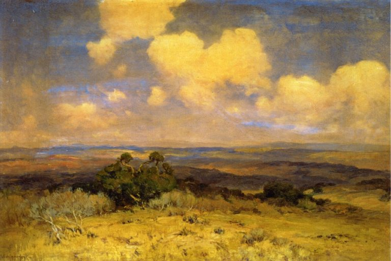 Sunlight and Shadow | Julian Onderdonk | oil painting