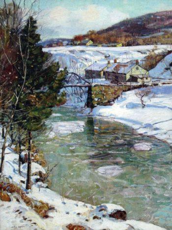 Icy Winter | George Gardner Symons | oil painting