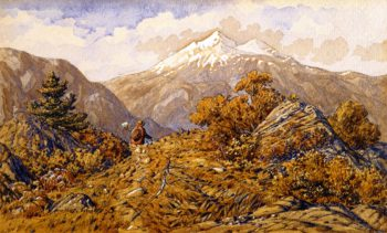 Scene in British Columbia | William George Richardson Hind | oil painting
