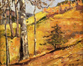 Mountain Landscape | George Gardner Symons | oil painting
