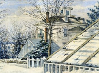 Residence of Henry Youle Hind | William George Richardson Hind | oil painting