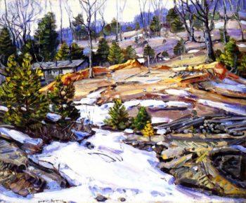 Early Snow 2 | George Gardner Symons | oil painting