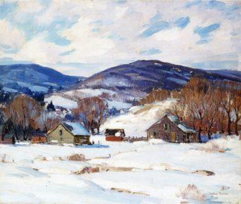 Early Snow | George Gardner Symons | oil painting