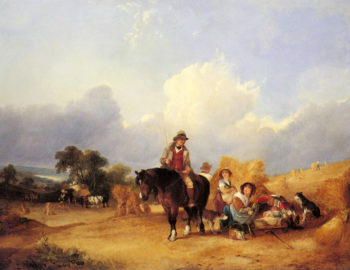 Harvest Time Snr William Shayer