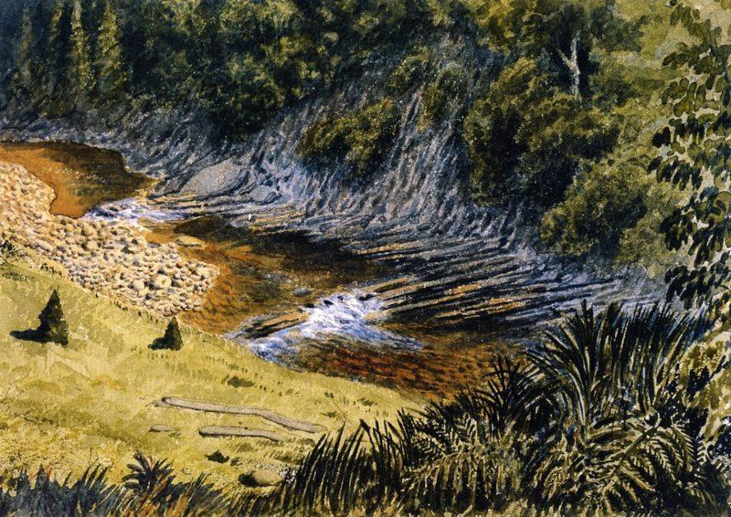 McLellans Brook   William George Richardson Hind   oil painting