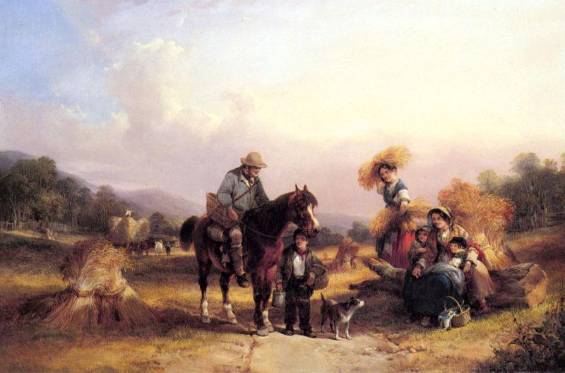 Harvesters Resting Snr William Shayer