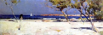 Ariadne | Sir Arthur Streeton | oil painting