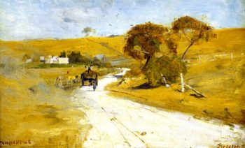 At Templestowe | Sir Arthur Streeton | oil painting