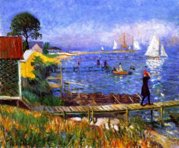 Bathers at Bellport | William James Glackens | oil painting