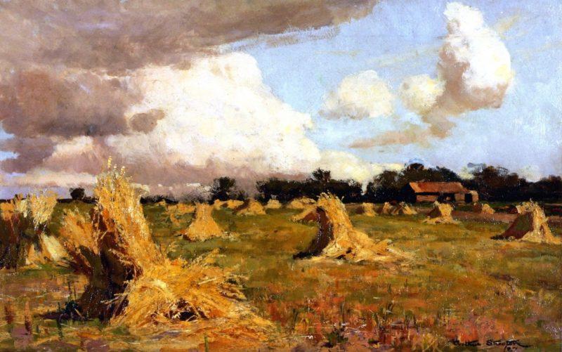 Australian December | Sir Arthur Streeton | oil painting
