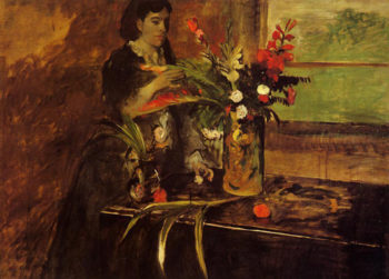 Portrait of Mme Rene De Gas nee Estelle Musson 1872-1873 Edgar Degas