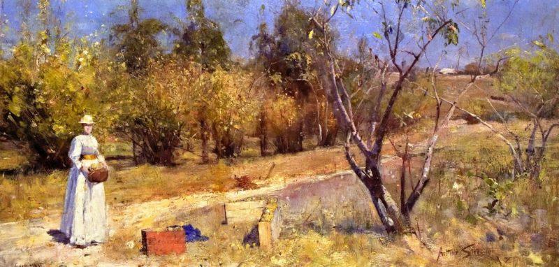 Autumn | Sir Arthur Streeton | oil painting