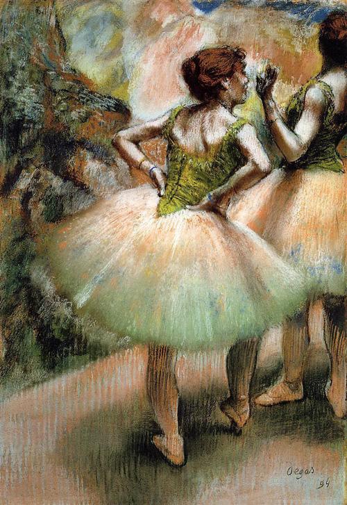 Dancers Pink and Green 1894 Edgar Degas