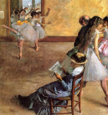 Ballet Class The 1881 Edgar Degas