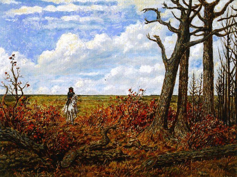 Horseman on the Prairies | William George Richardson Hind | oil painting
