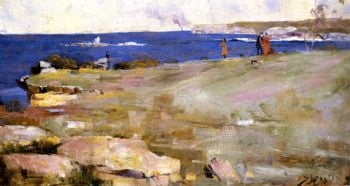 Coogee Bay | Sir Arthur Streeton | oil painting