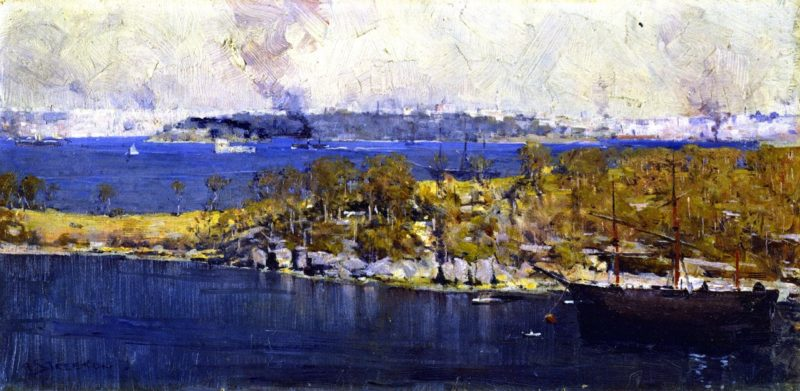 Cremorne | Sir Arthur Streeton | oil painting