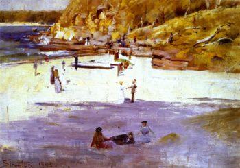 Manly Beach | Sir Arthur Streeton | oil painting